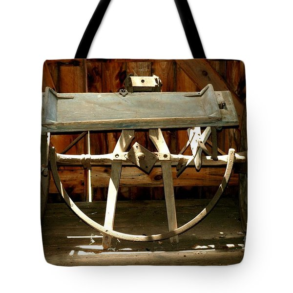 Tote Bag featuring the photograph Forgotten by Christiane Hellner-OBrien