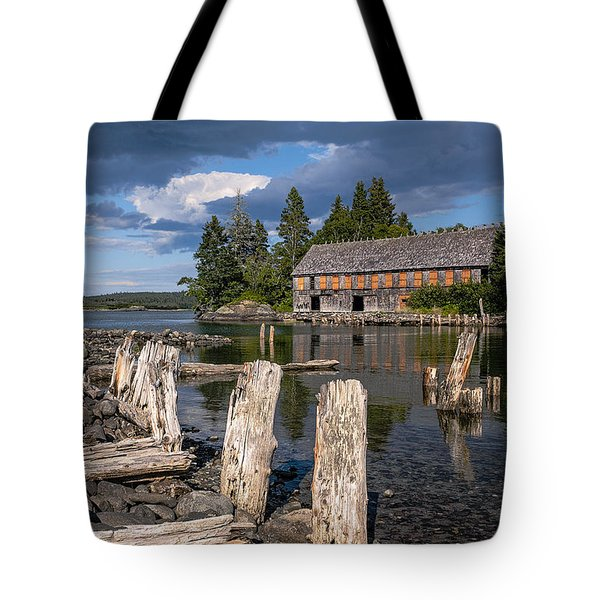 Forgotten Downeast Smokehouse Tote Bag