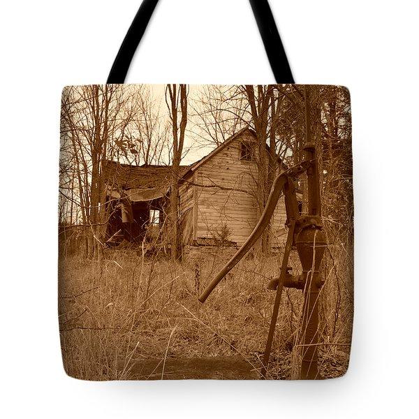 Forgotten Farmhouse Tote Bag