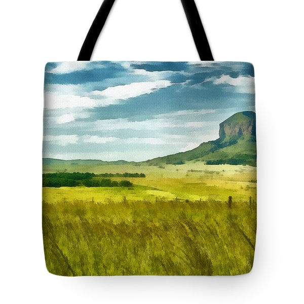 Forgotten Fields Tote Bag by Ayse and Deniz