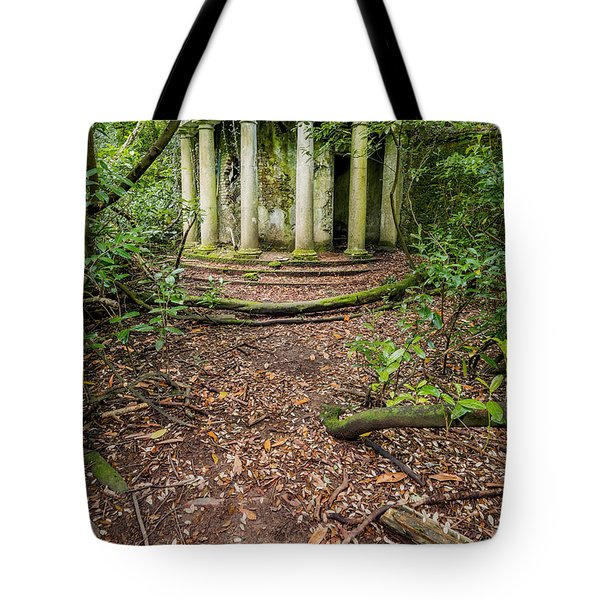 Forgotten Folly Tote Bag by Adrian Evans