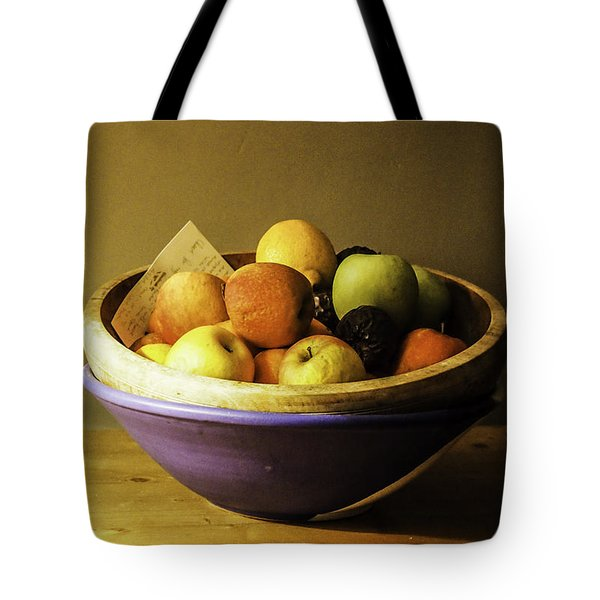 Forgotten Fruit Bowl Tote Bag