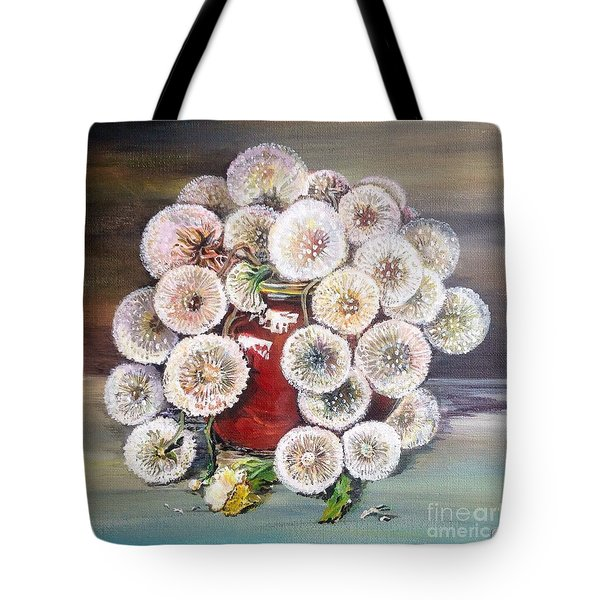 Forgotten Tote Bag by Iya Carson