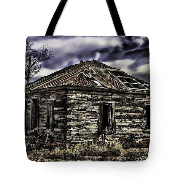 Tote Bag featuring the painting Forgotten by Muhie Kanawati