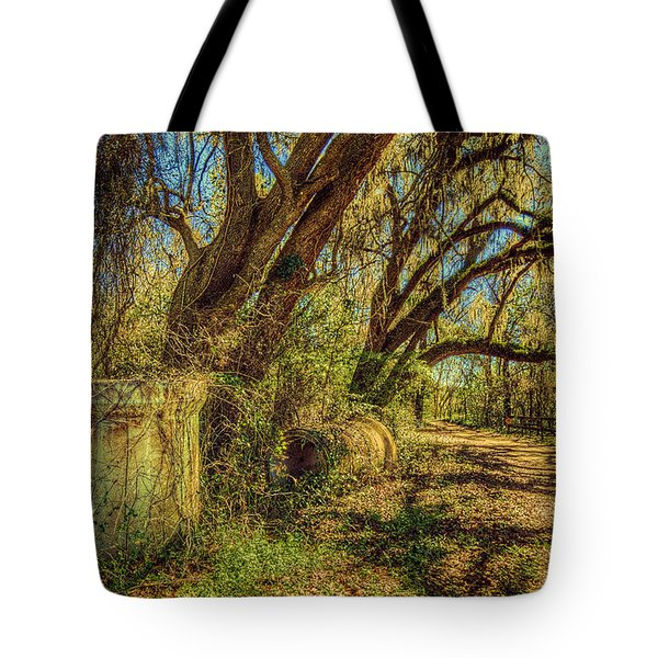 Forgotten Under The Oaks Tote Bag