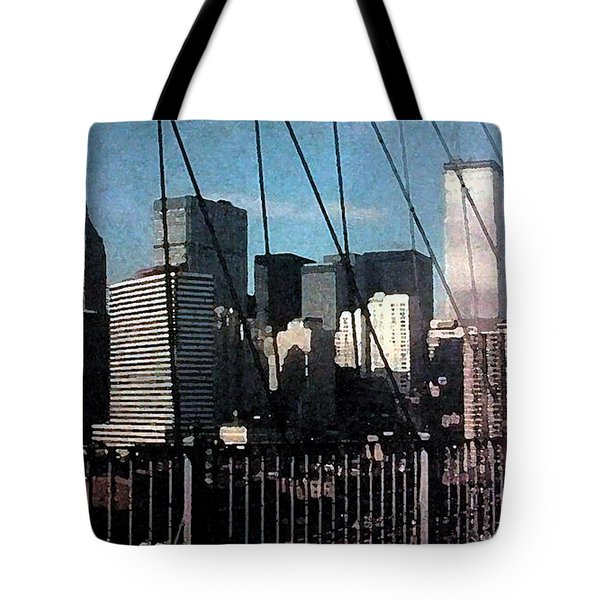 Forgotten View Tote Bag by George Pedro