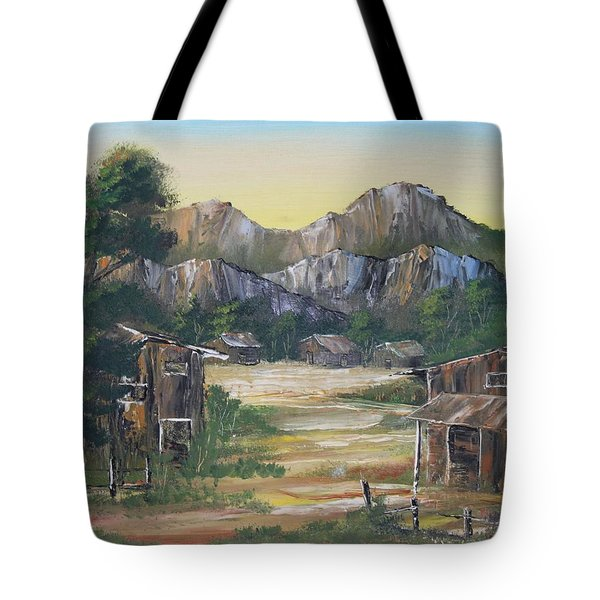 Forgotten Village Tote Bag