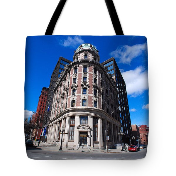 Tote Bag featuring the photograph Fork Albany N Y by John Schneider