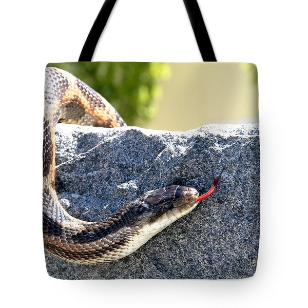 Forked Tongue Tote Bag