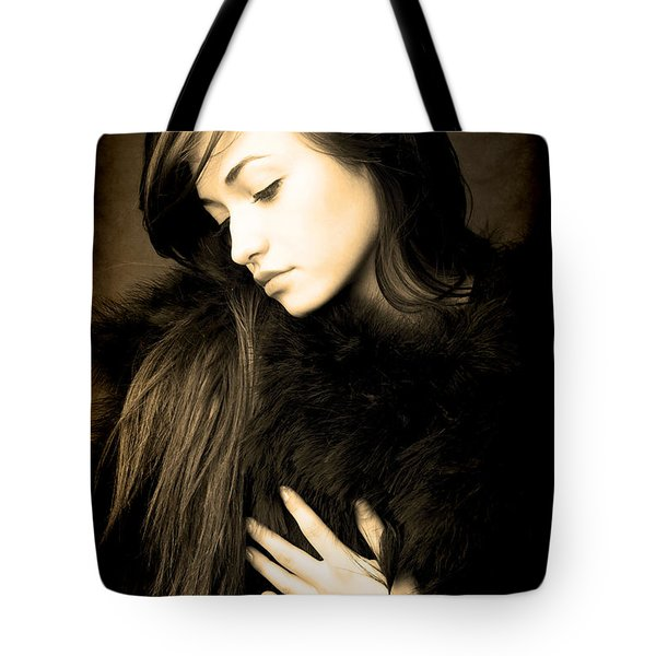Tote Bag featuring the photograph Forlorn Woman by Jennifer Wright