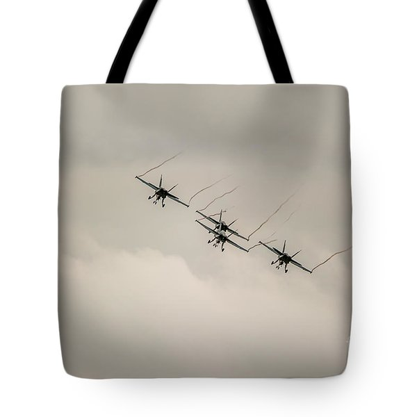 Formation Flying Tote Bag