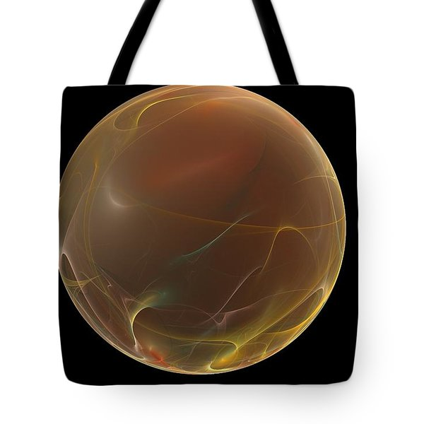 Forming Of The Sphere Tote Bag by Peter R Nicholls