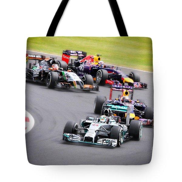 Formula 1 Grand Prix Silverstone Tote Bag