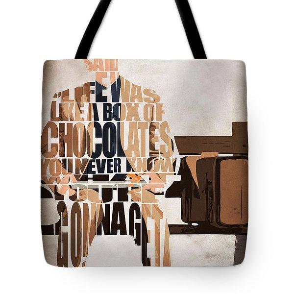 Forrest Gump - Tom Hanks Tote Bag