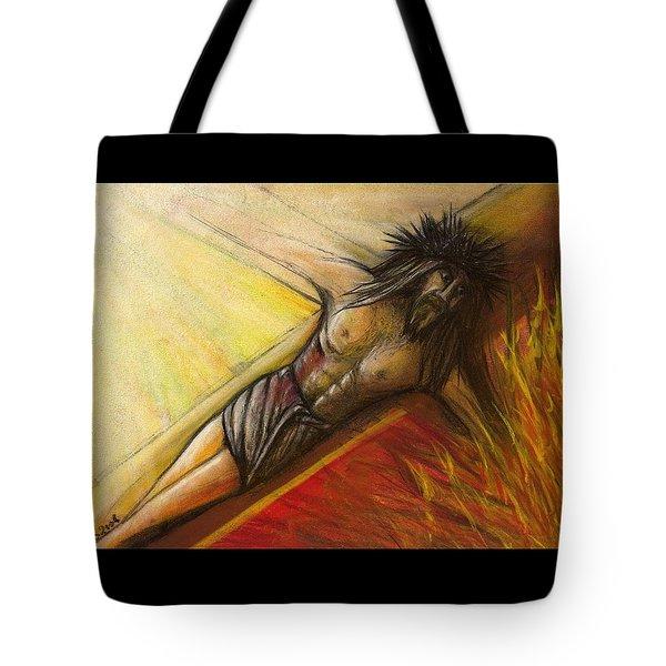Psalm 22 Forsaken Tote Bag