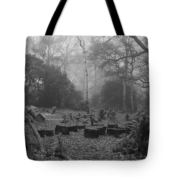 Tote Bag featuring the photograph Forset Trees by Maj Seda