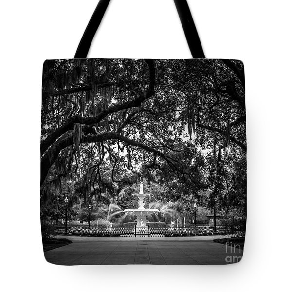 Forsyth Park Tote Bag by Perry Webster