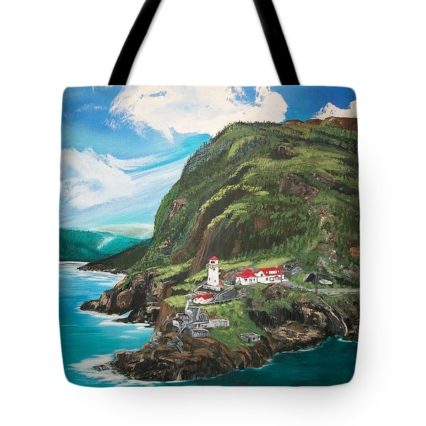 Fort Amherst Newfoundland Tote Bag