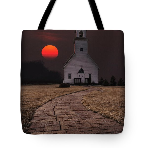 Fort Belmont Sunset Tote Bag