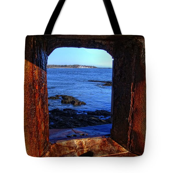 Fort Constitution Tote Bag by Joann Vitali