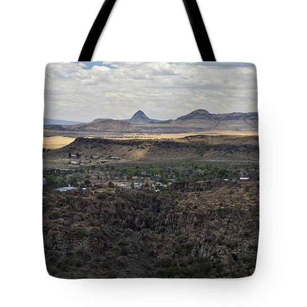 Fort Davis From Davis Mountains State Park Tote Bag