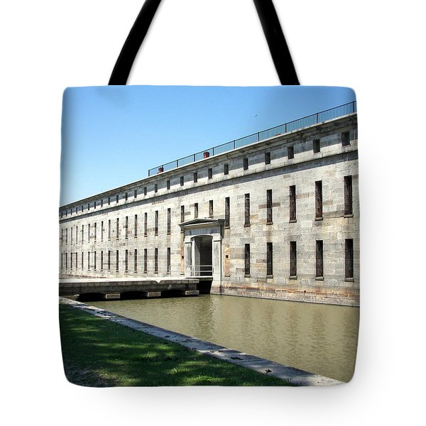 Fort Delaware Sally Port Entrance Tote Bag