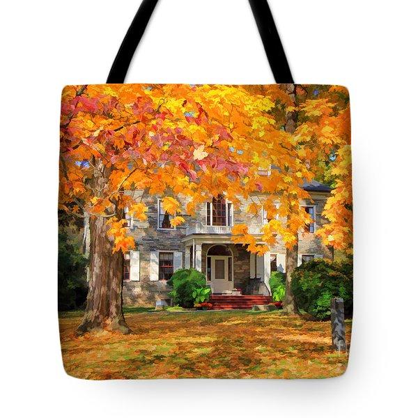 Fort Hunter Autumn Tote Bag