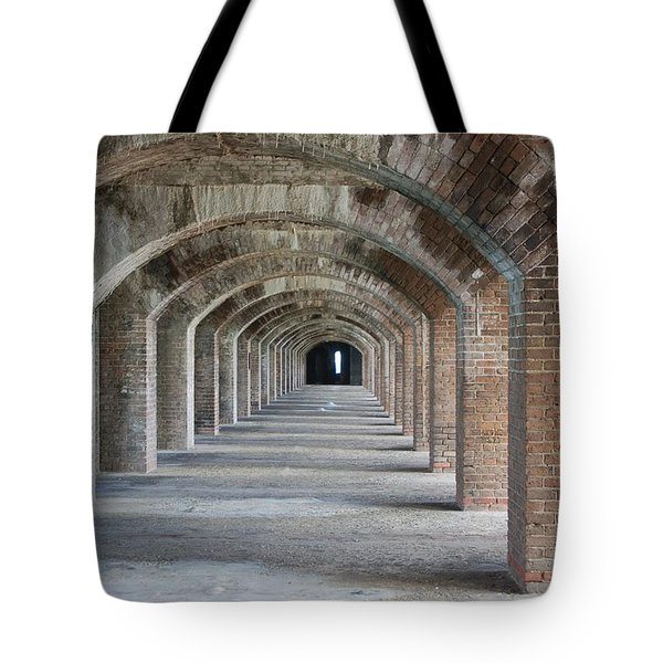 Fort Jefferson Arches Tote Bag