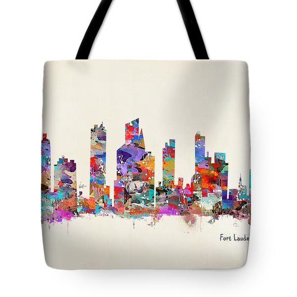 Fort Lauderdale Florida Tote Bag