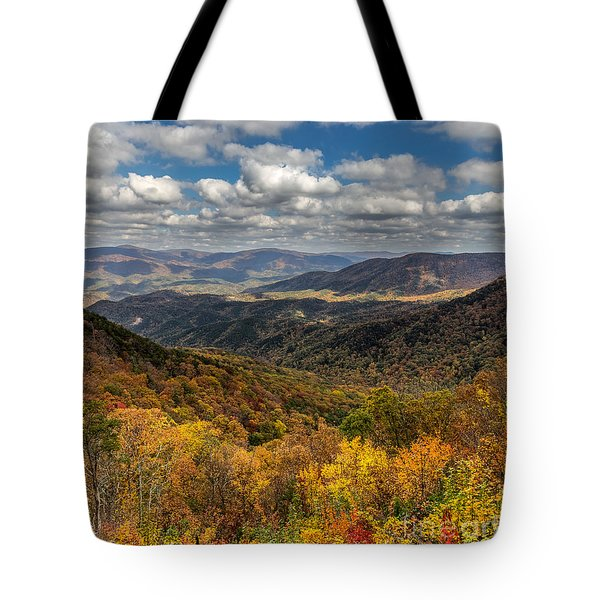 Fort Mountain Tote Bag