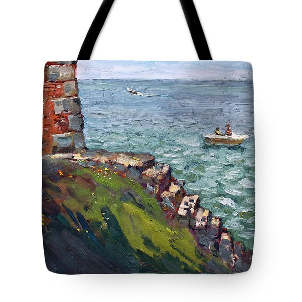 Fort Niagara By Lake Ontario Tote Bag