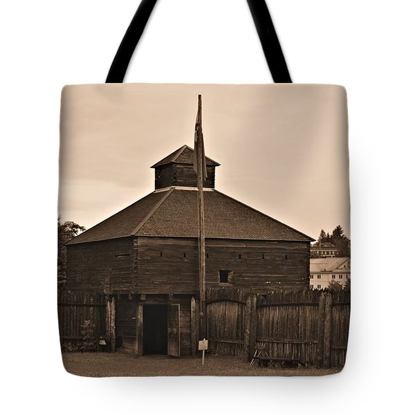 Fort Western Tote Bag