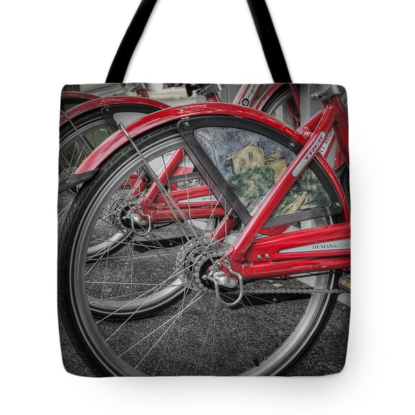 Fort Worth Bikes Tote Bag