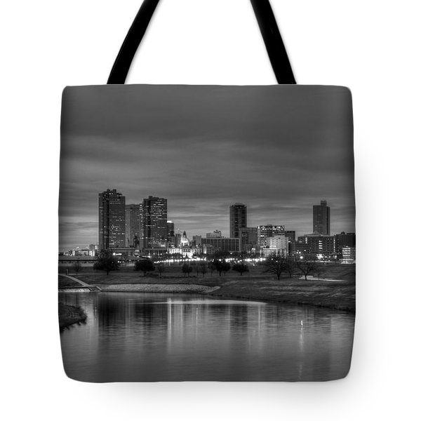 Fort Worth Tote Bag by Jonathan Davison