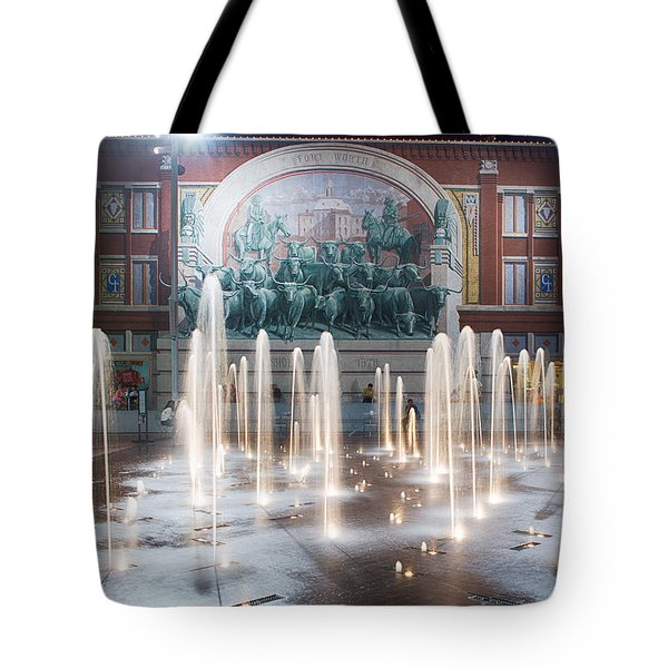 Fort Worth Sundance Square Aug 2014 Tote Bag