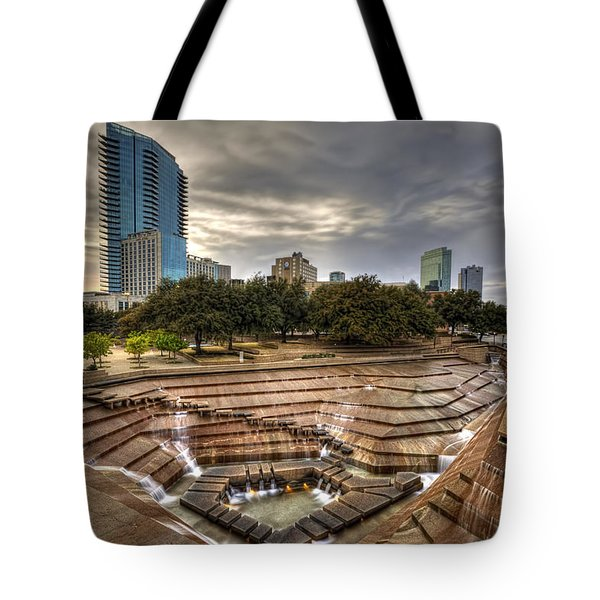 Fort Worth Water Garden Tote Bag