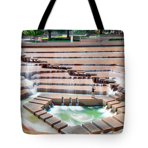 Fort Worth Water Garden V7 Tote Bag