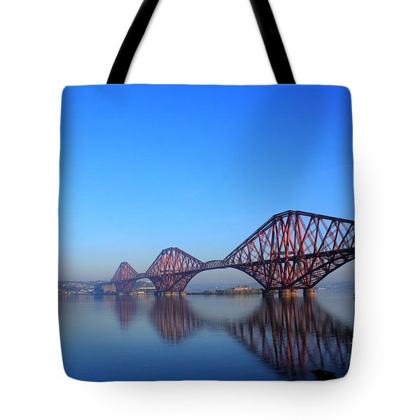 Tote Bag featuring the photograph Forth Rail Bridge by David Grant
