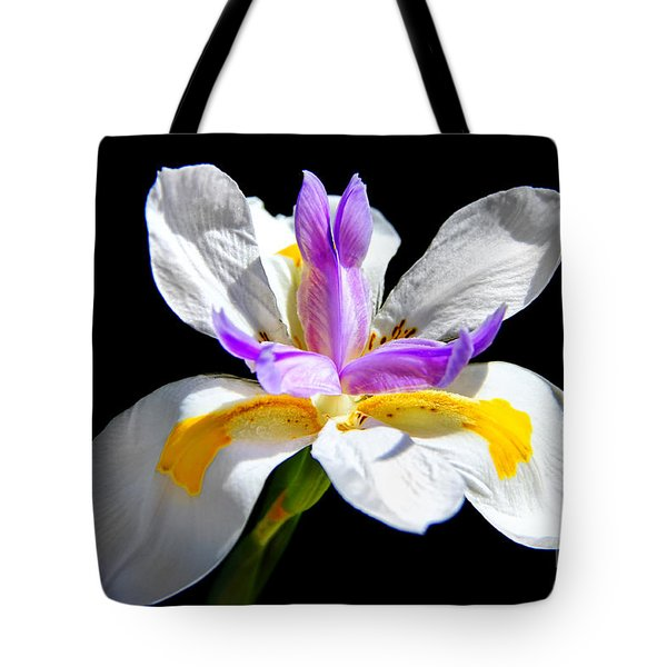 Fortnight Lily Tote Bag by Mariola Bitner