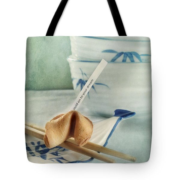 Fortune Cookie Tote Bag by Priska Wettstein