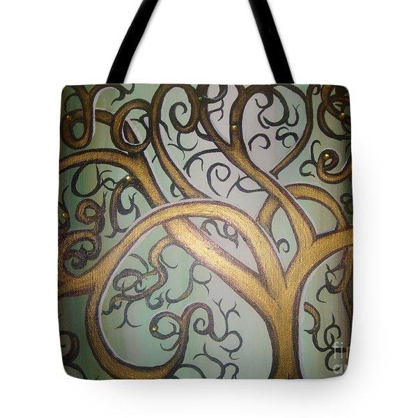 Fortune Tree Tote Bag