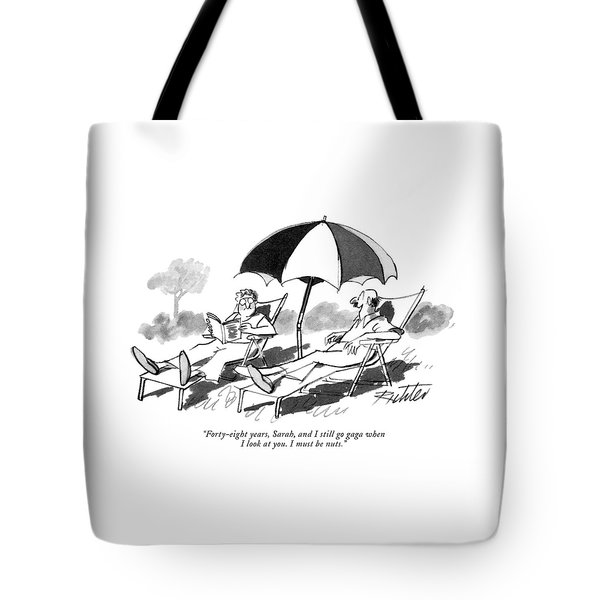 Forty-eight Years Tote Bag