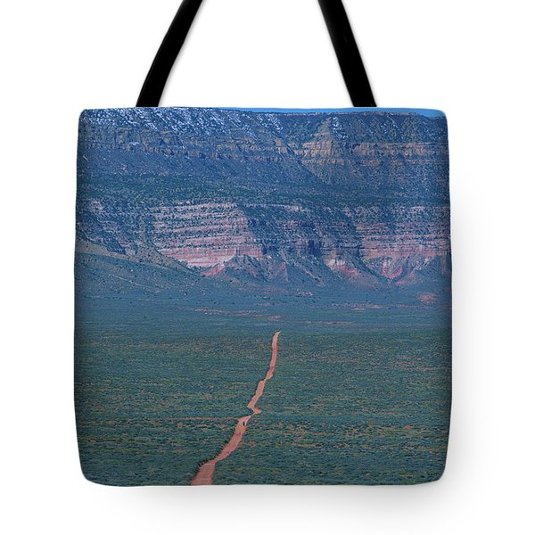 Forty Mile Road Tote Bag