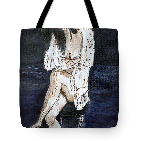 Forty. Tote Bag by Shlomo Zangilevitch