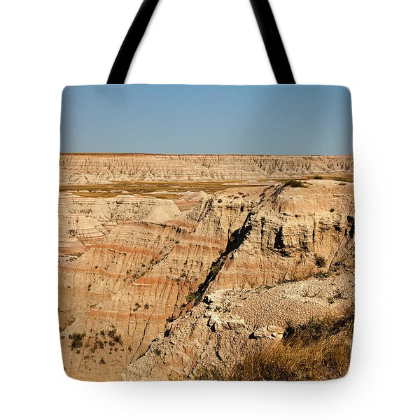 Fossil Exhibit Trail Badlands National Park Tote Bag