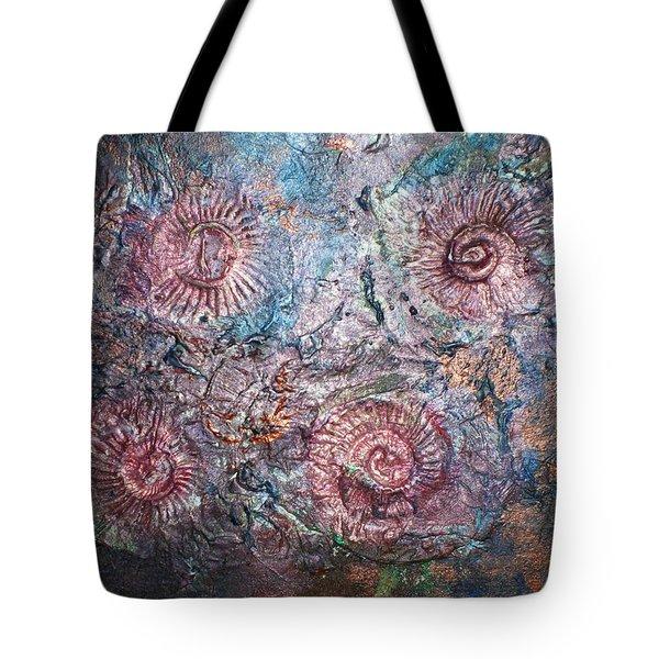 Fossils 1 Tote Bag by Carol Rowland