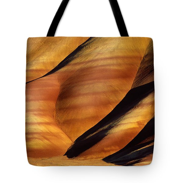 Fossilscape Tote Bag by Inge Johnsson
