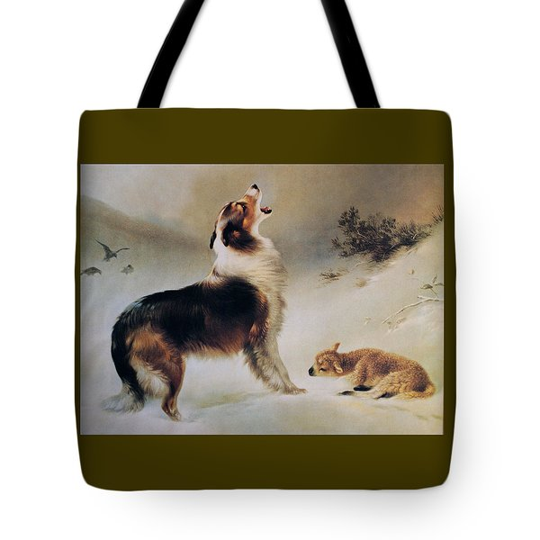Found Tote Bag by Albrecht Schenck
