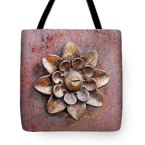 Found Art In New York City Tote Bag by Rona Black