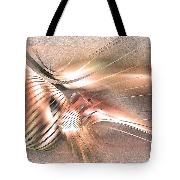 Found By Nile - Abstract Art Tote Bag